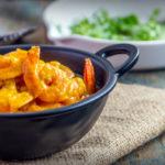 Curry crémeux aux crevettes